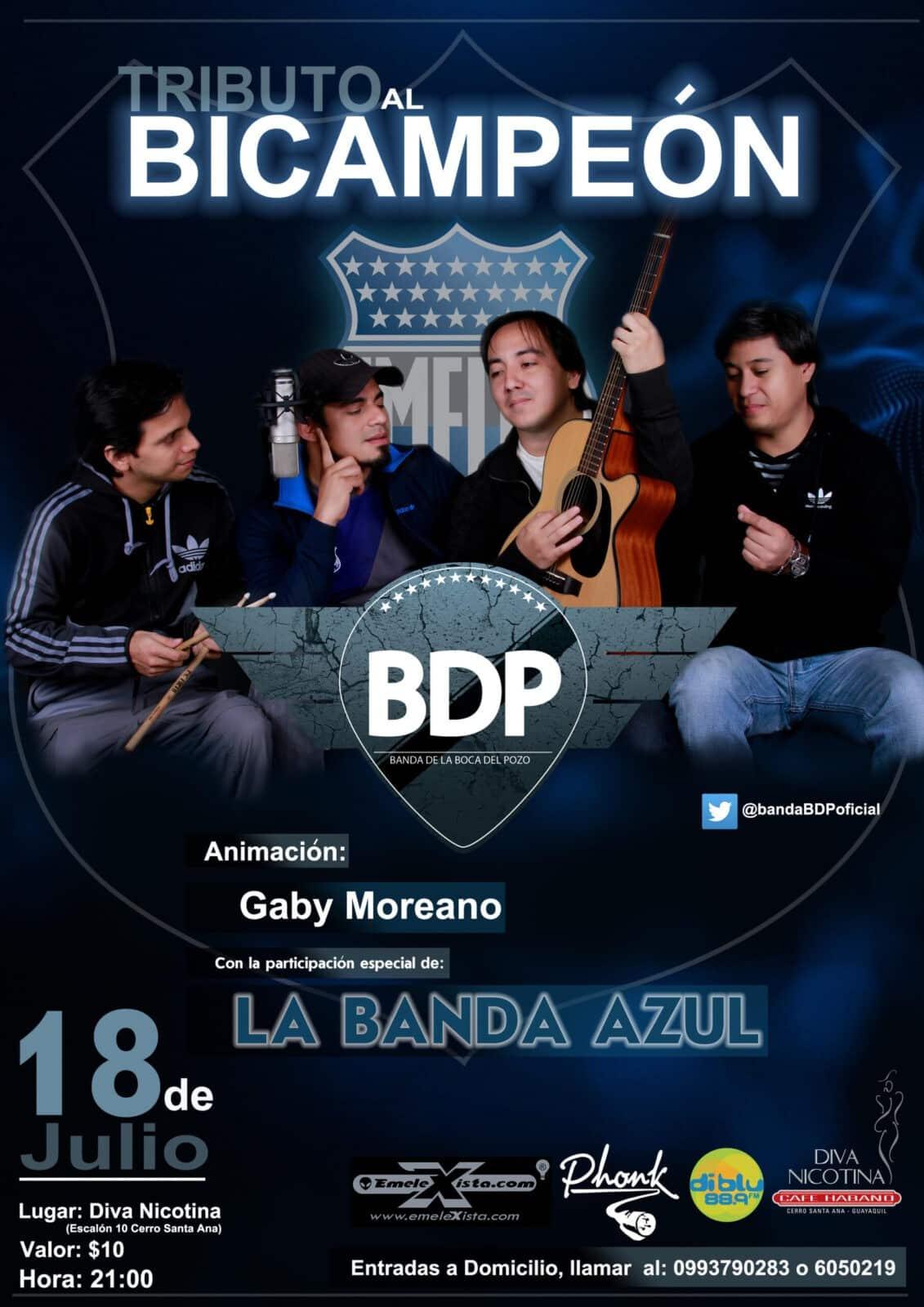 """no te pierdas el concierto """"tributo al bicampeón"""" en guayaquil"""
