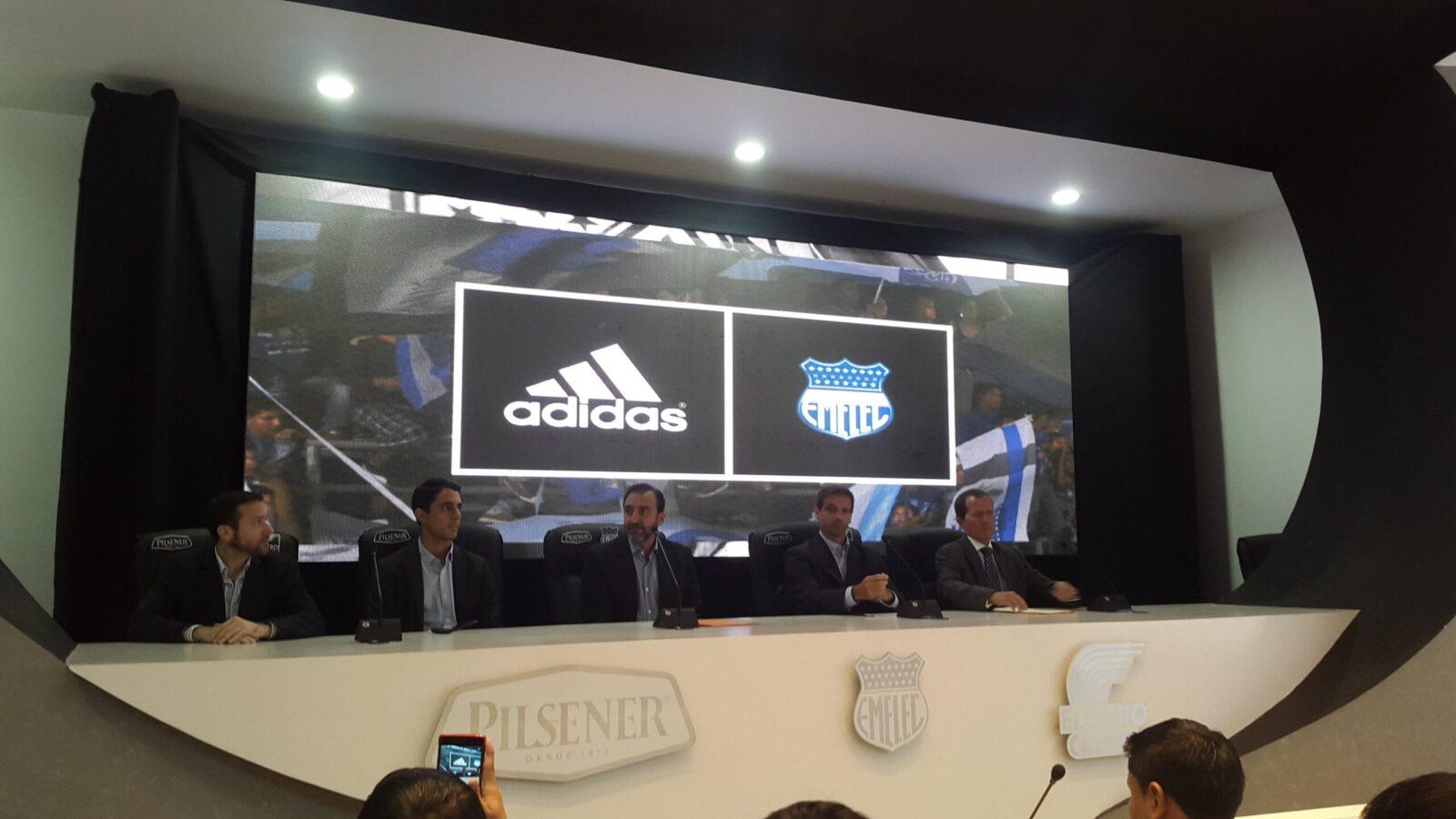 empresa alemana adidas vestirá desde 2016 a emelec