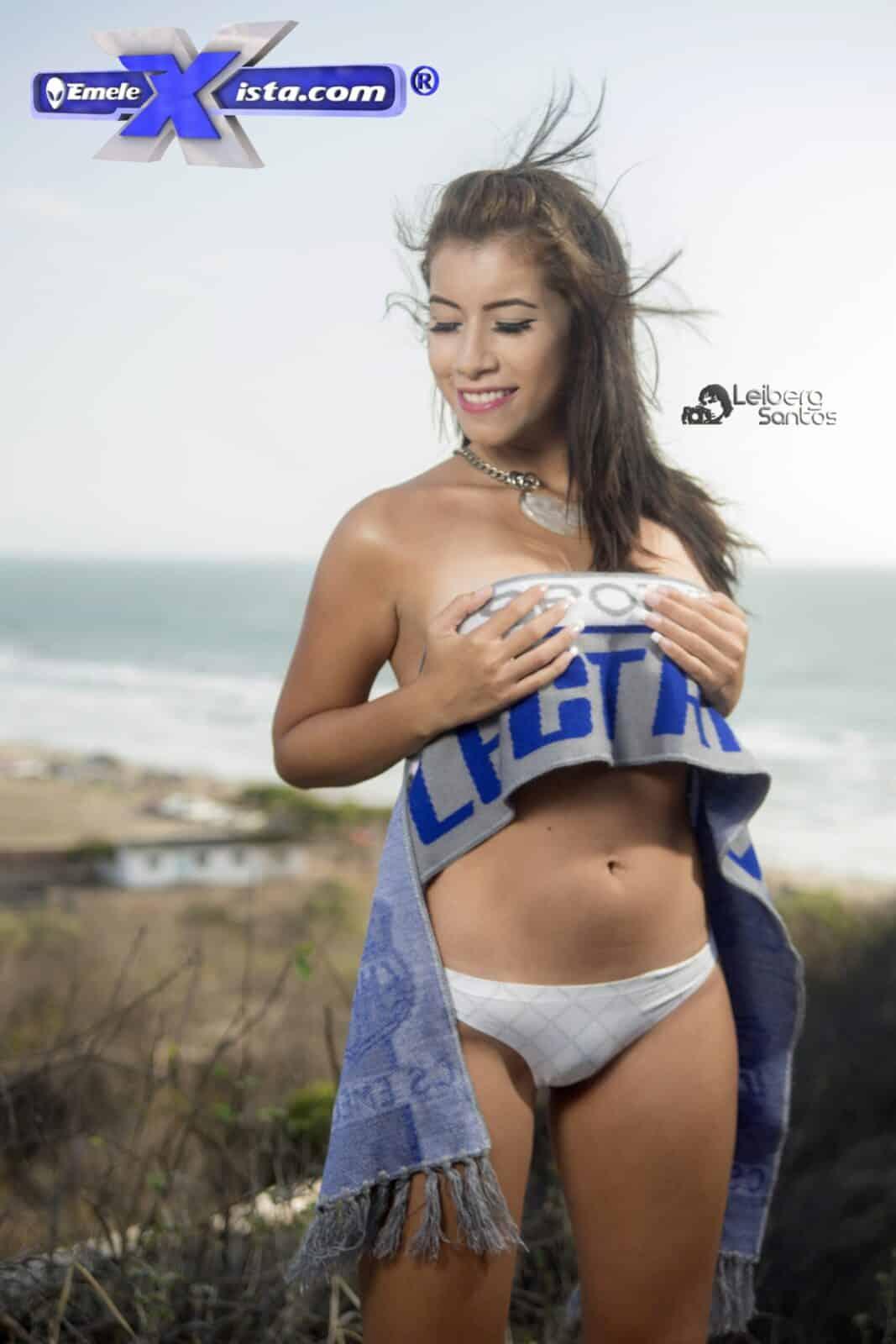 Mabel Alava y Carola Cruz desde San Clemente fotos por Leiberg Santos
