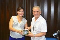 Salvador Capitano visitó Radio emeleXista