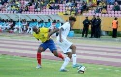 partido amistoso : ecuador 2 vs 0 honduras
