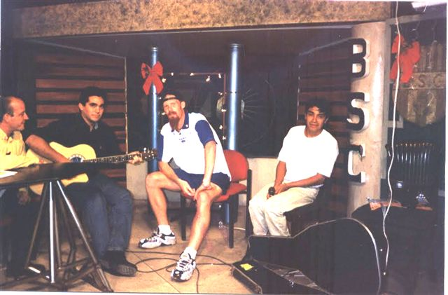 1997 : alexi lalas tocó rock invitado por diego arcos