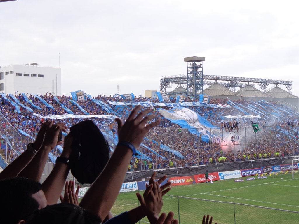 final del partido: emelec 0 x 2 liga de quito (29 nov 2015)