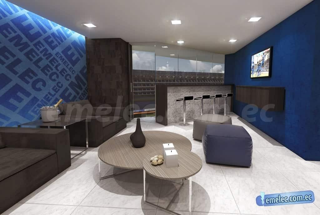 emelec pone a la venta 'suites vip' en su estadio