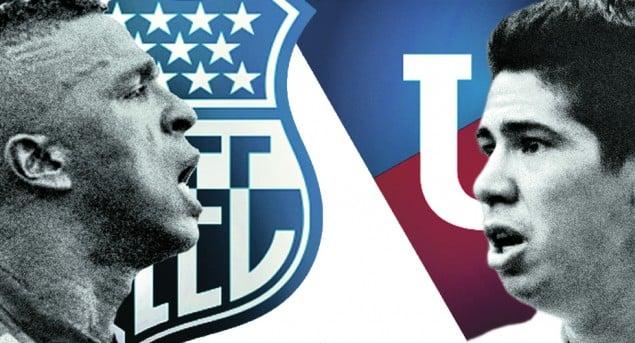 final 2015 : emelec vs. liga de quito (16 dic 2015)