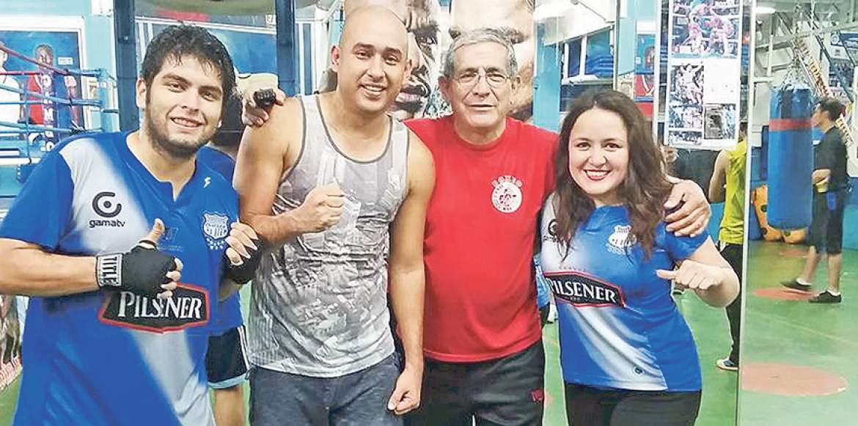 Raúl Gamboa el hincha emelecista que se encarga de otra disciplina