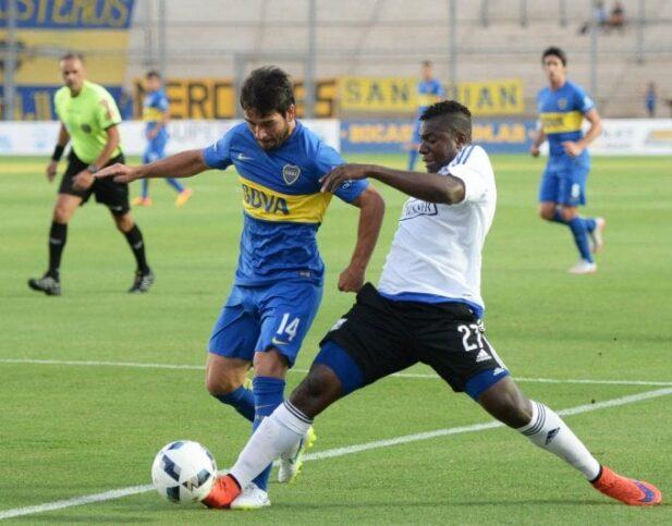 copa cruce de los andes : boca juniors venció 3-0 al club sport emelec