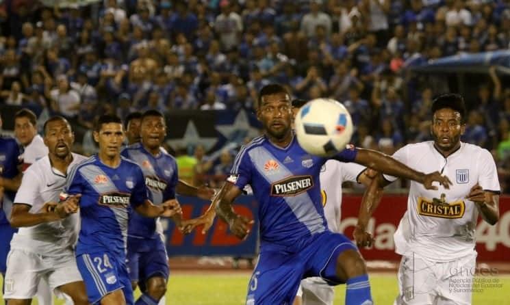 Explosión Azul : EMELEC derrotó 3 vs 1 a Alianza Lima