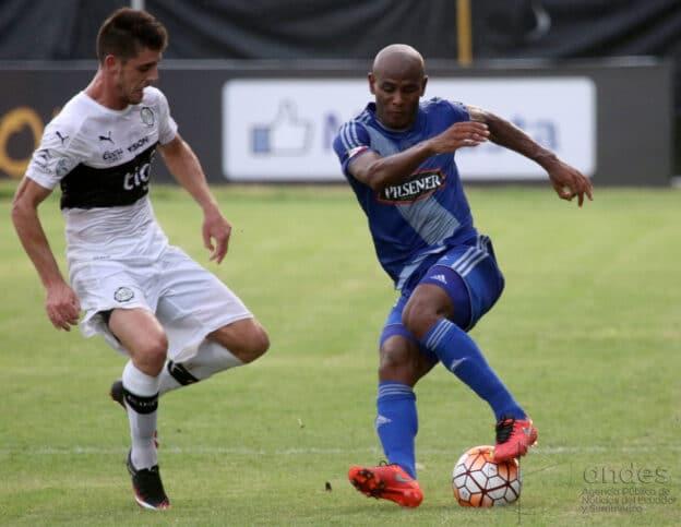 Copa Libertadores : EMELEC 2 X 2 Olimpia