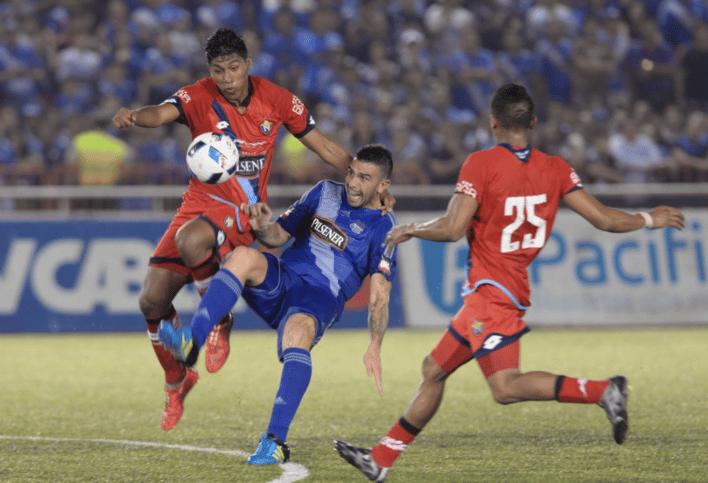 emelec 0 vs 1 el nacional (29 febrero 2016)