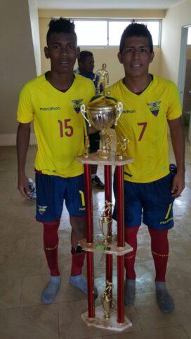 ecuador sub-16 ganó copa esmeralda oriental
