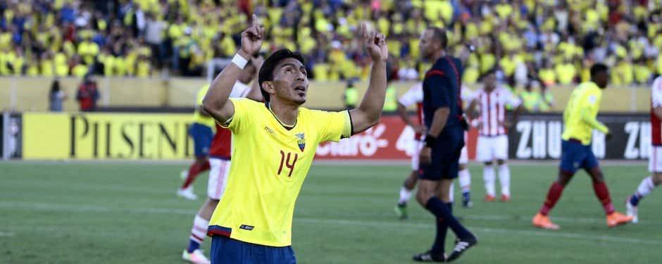 Ángel mena es otra posible baja en la selección ecuatoriana
