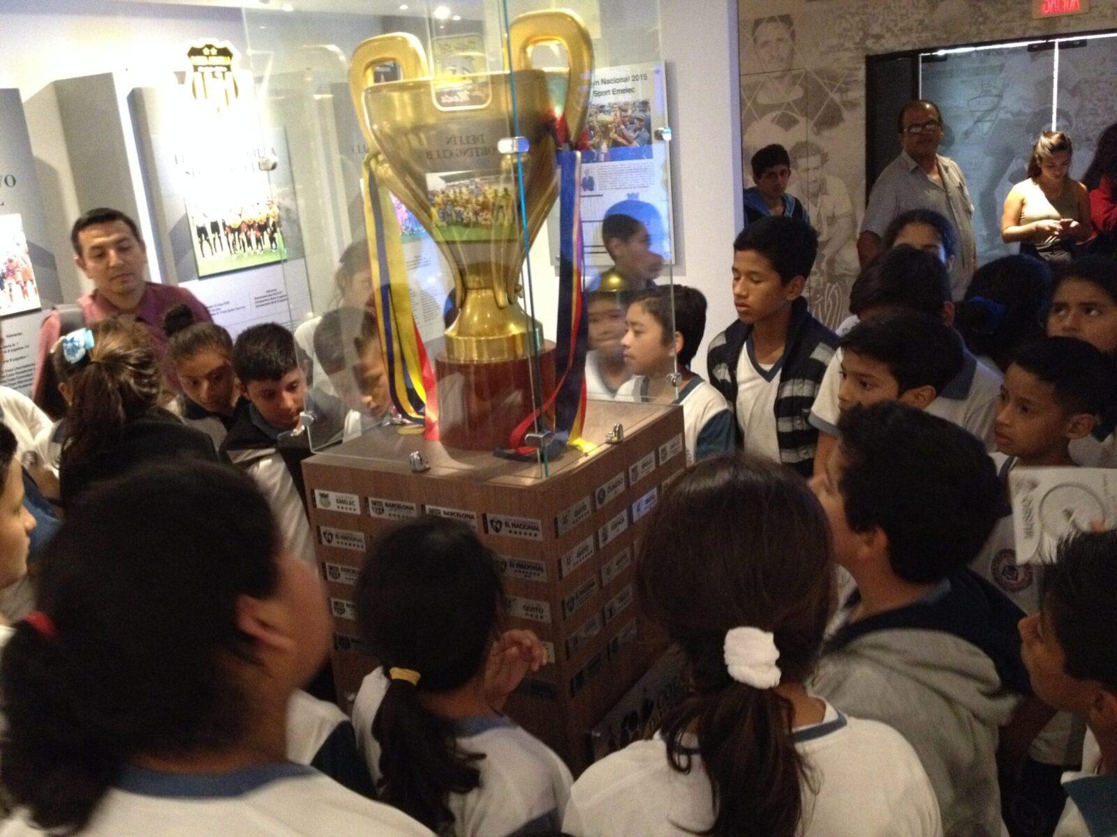 museo de la federación ecuatoriana de fútbol