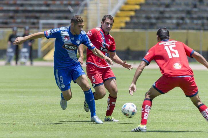 emelec derrotó a el nacional con 2 goles de guanca