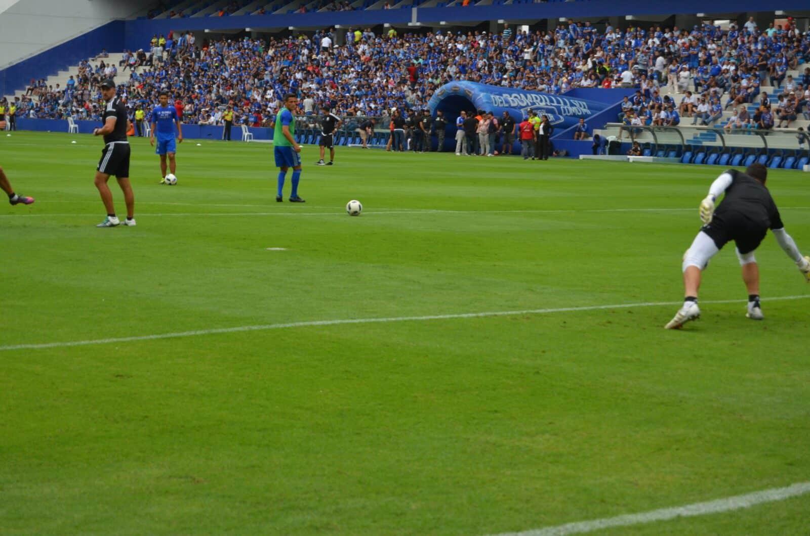 fotos del partido del club sport emelec 3 x 0 ldu-q