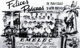 EMELEC primer campeón ecuatoriano en 1957