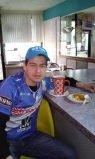 Sentido deceso de Marlon Almendariz azul de corazón en New York