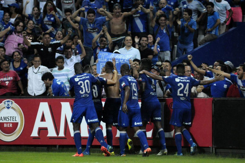 partido copa libertadores : emelec 1 x 0 dim