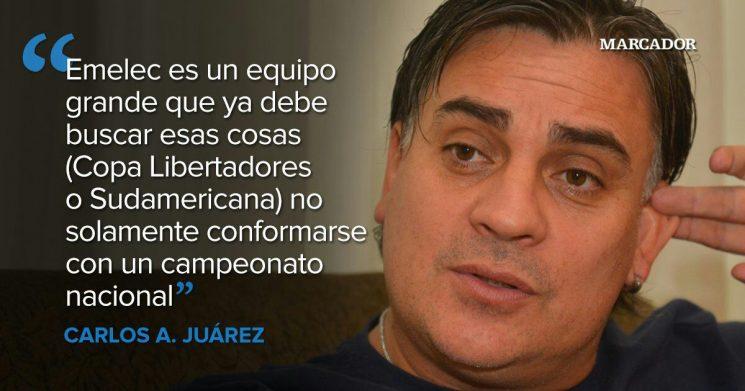 Carlos Alberto Juarez tiemblen porque volvimos