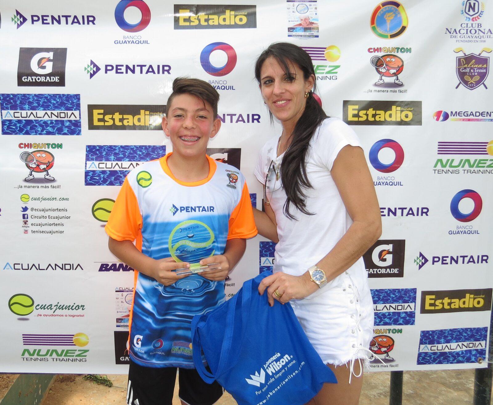 Hijo de Dreer campeón en categoría de Copa Ecuajunior