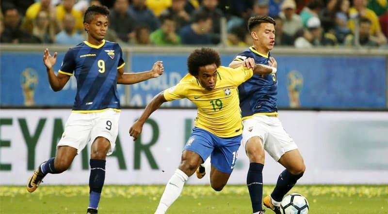 ecuador no consiguió la victoria en brasil