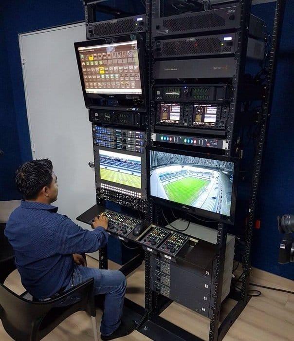 emelexista emelec propio sistema de transmisión satelital
