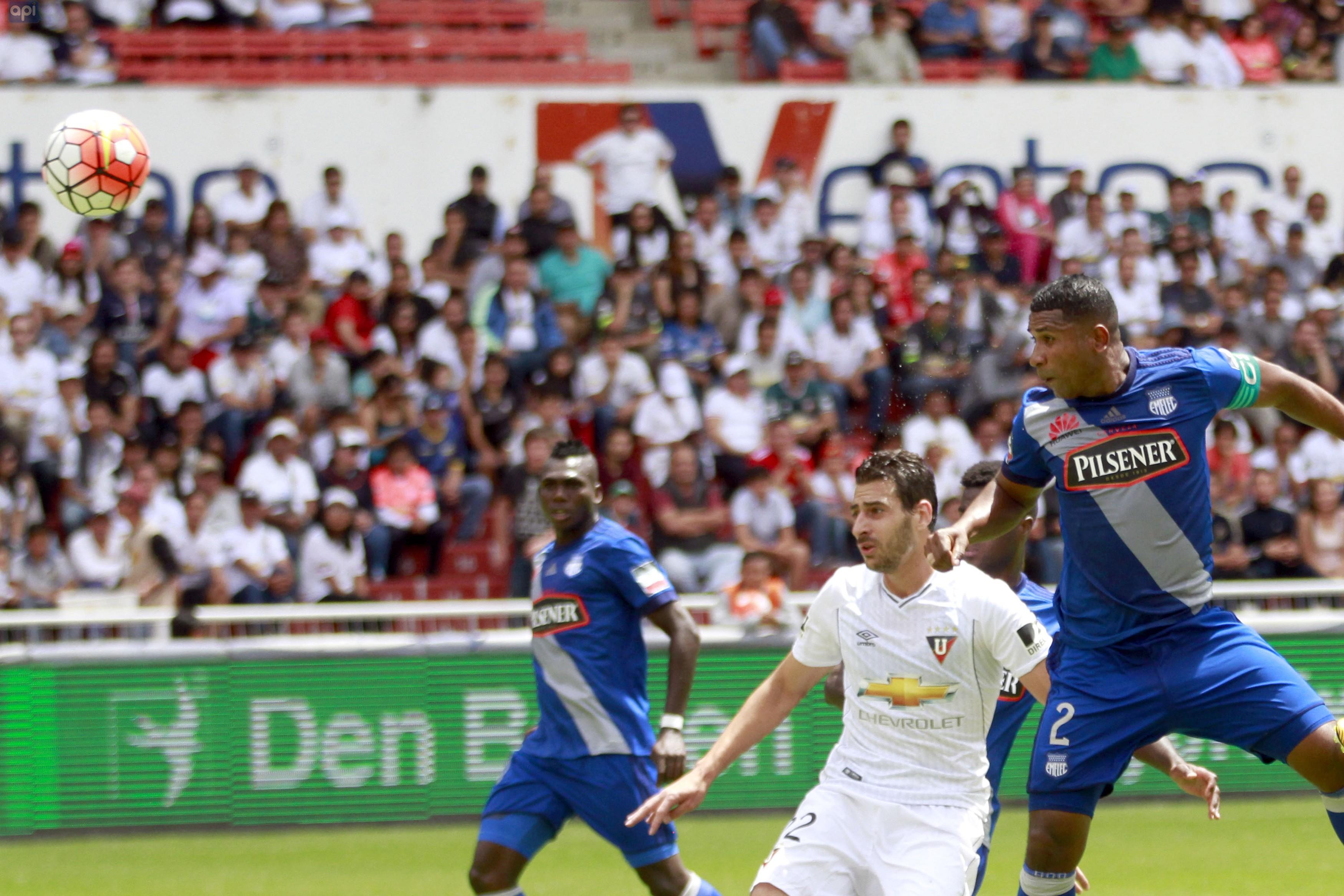 Liga de Quito Emelec Casa Blanca