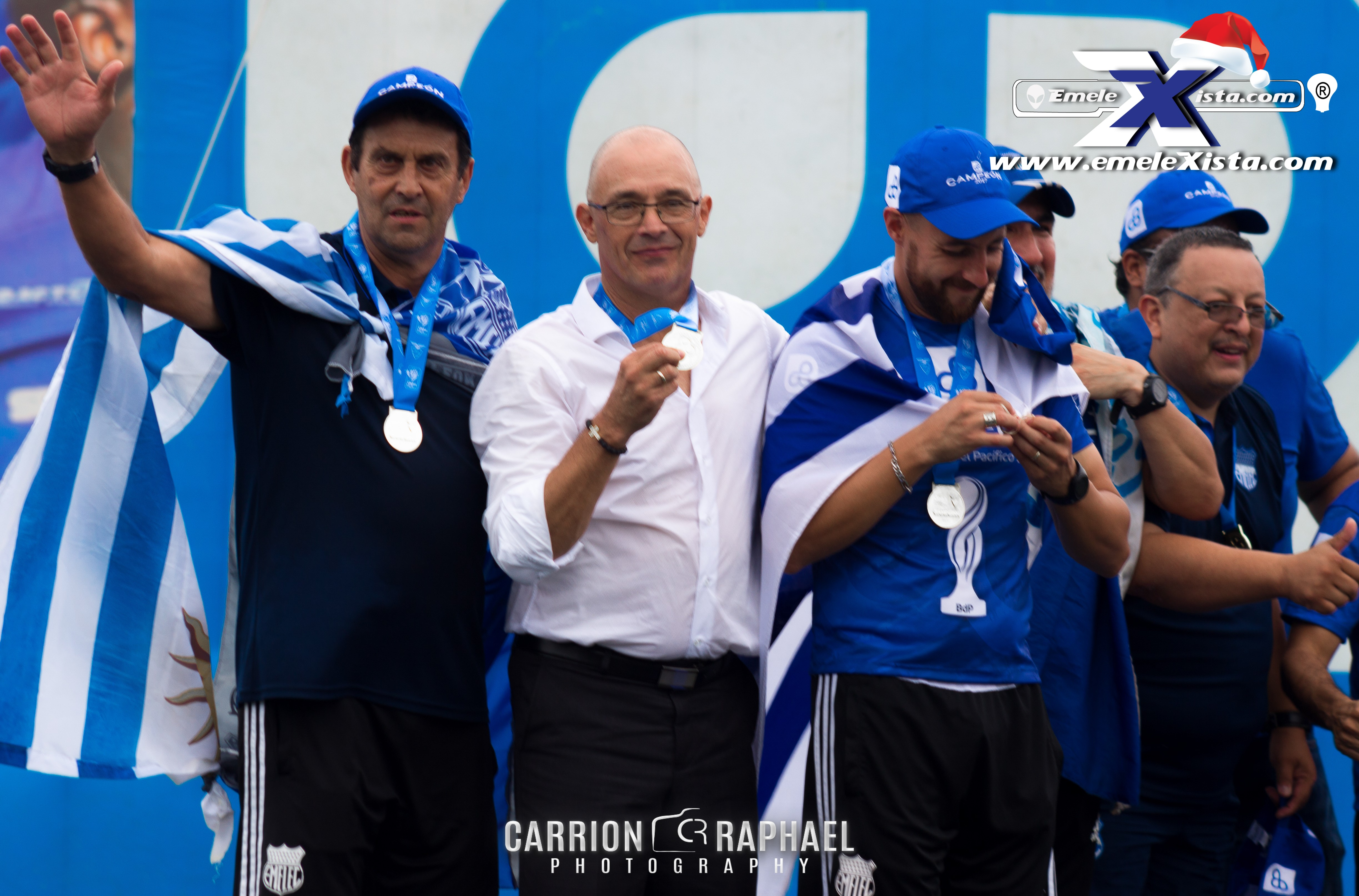 delfin emelec final vuelta photocarrion raphael carrion viteri