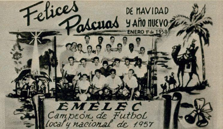emelec es el primer campeón ecuatoriano hoy se cumplen 60 años