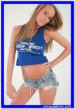 Fotos sexys de Dasha con la camiseta de EMELEC