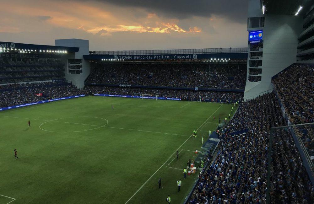emelec 4 vs 1 d. cuenca (líder indiscutible del fútbol ecuatoriano)