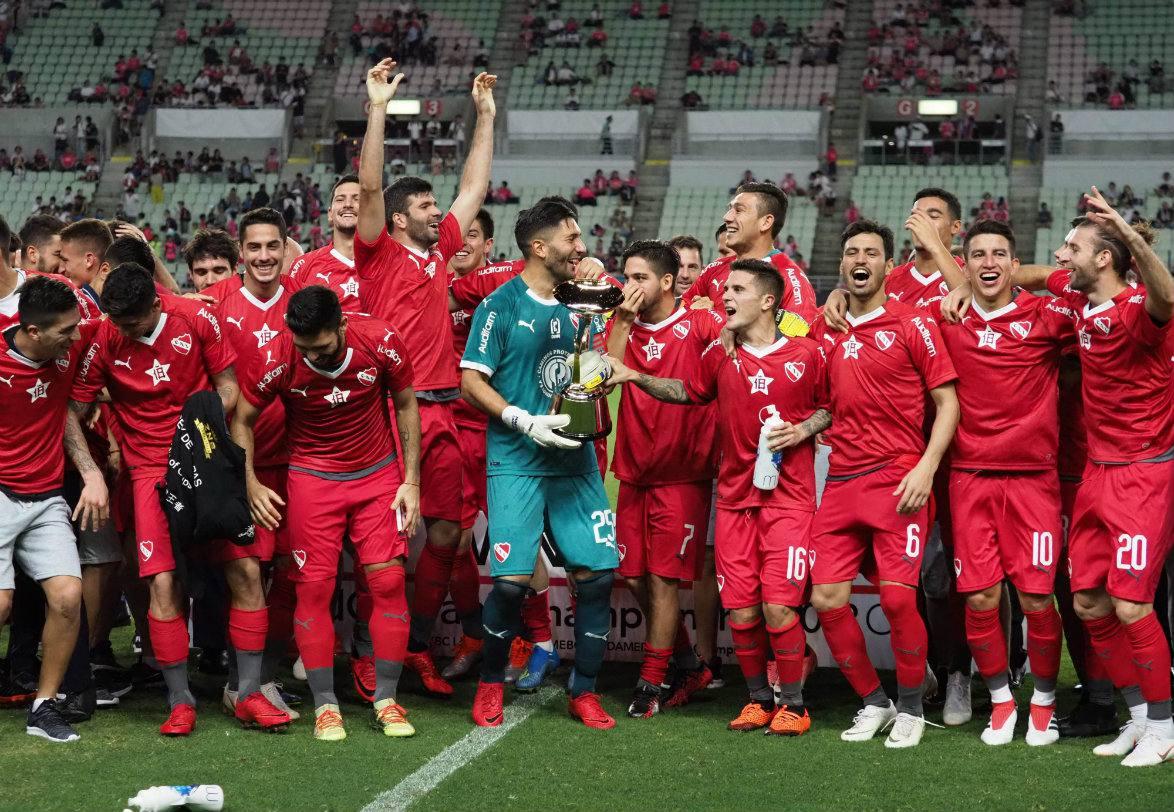 gaibor gana con independiente su primer título internacional