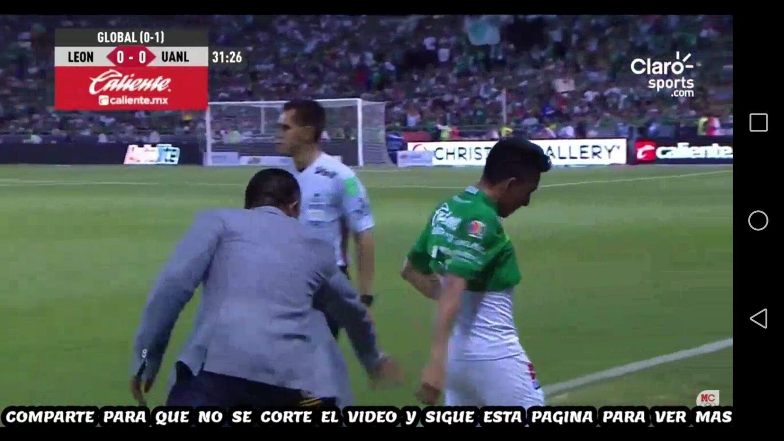 Angel Mena se lesionó en la final mexicana