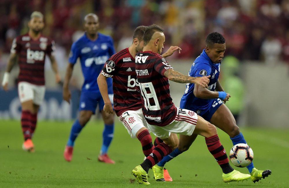 EMELEC cayó en penales ante Flamengo por octavos de final en Copa Libertadores