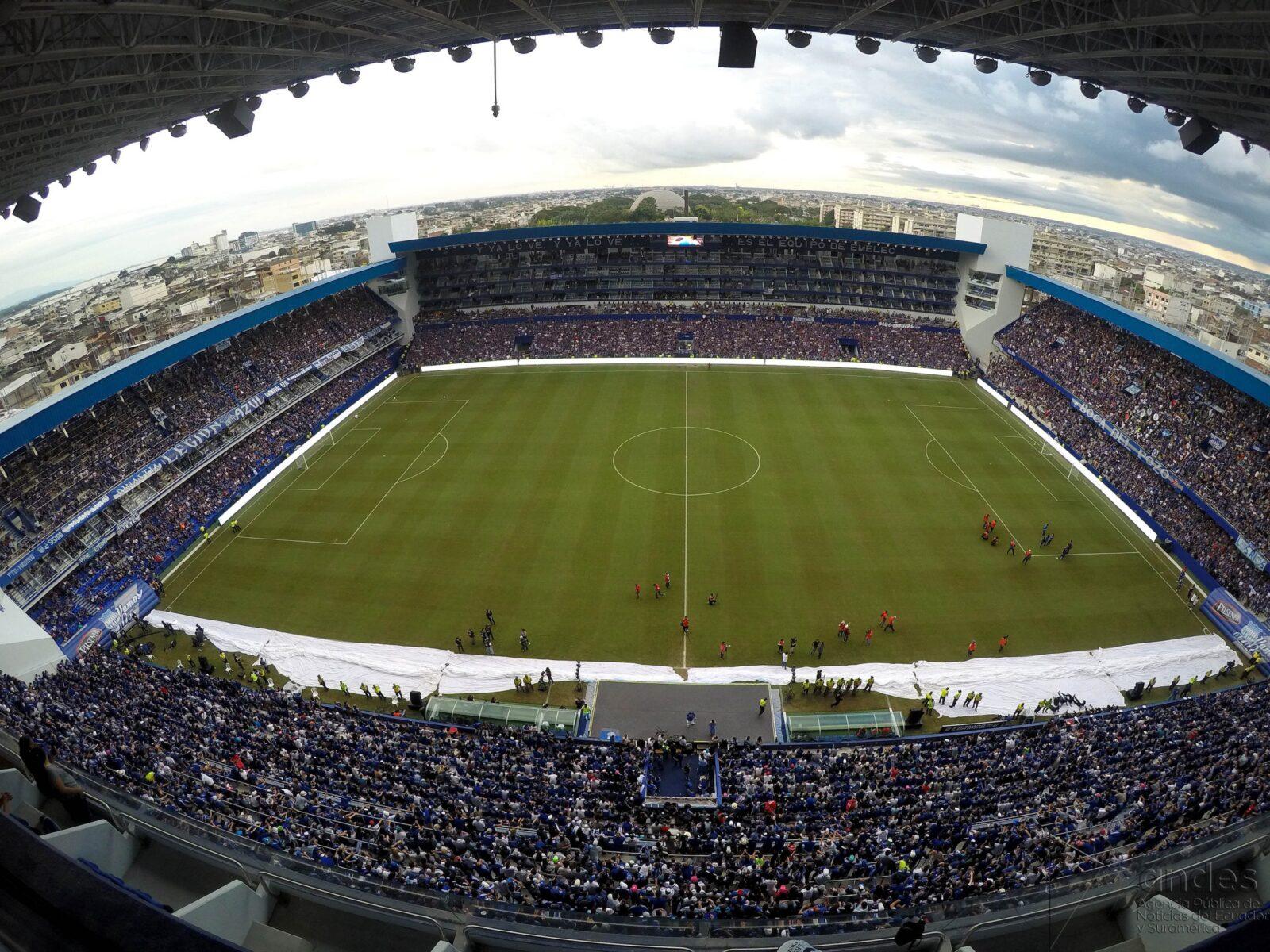 Partido EMELEC vs. Macará por Playoffs LigaPro 2019