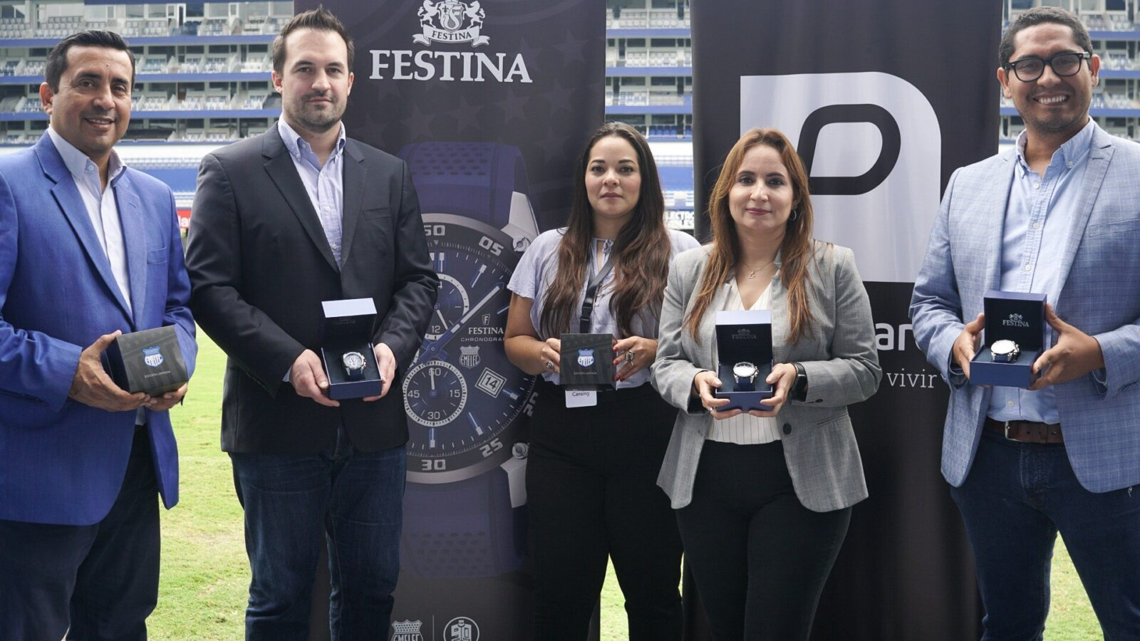 Festina lanza el reloj oficial de EMELEC por sus 90 años