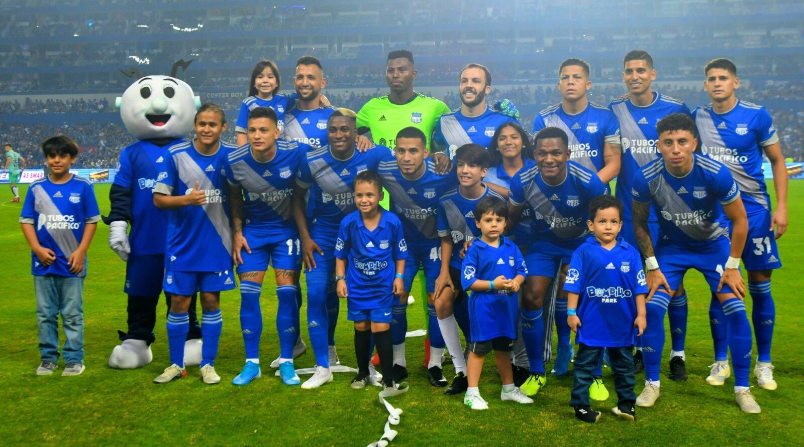 Explosión Azul 2020 : Emelec 2x0 Liga de Portoviejo