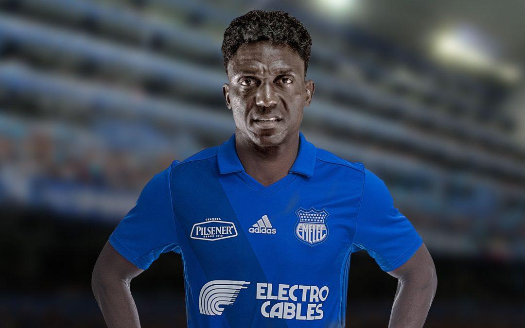 """Roberto Ordóñez """"La Tuka"""" es el nuevo delantero de EMELEC"""