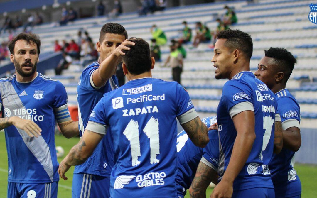 EMELEC 2X0 Deportivo Cuenca – victoria que alivia