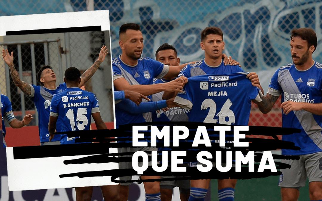 EMELEC empata 2×2 por Copa Sudamericana y tiene la ventaja