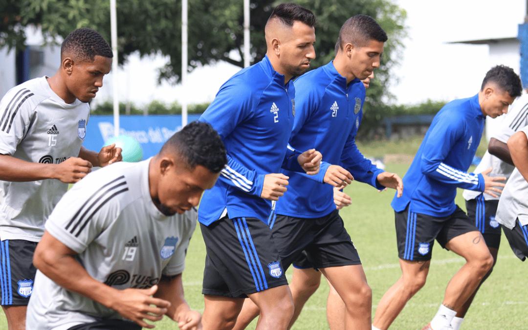 Emelec se prepara para enfrentar a Macará por Copa Sudamericana