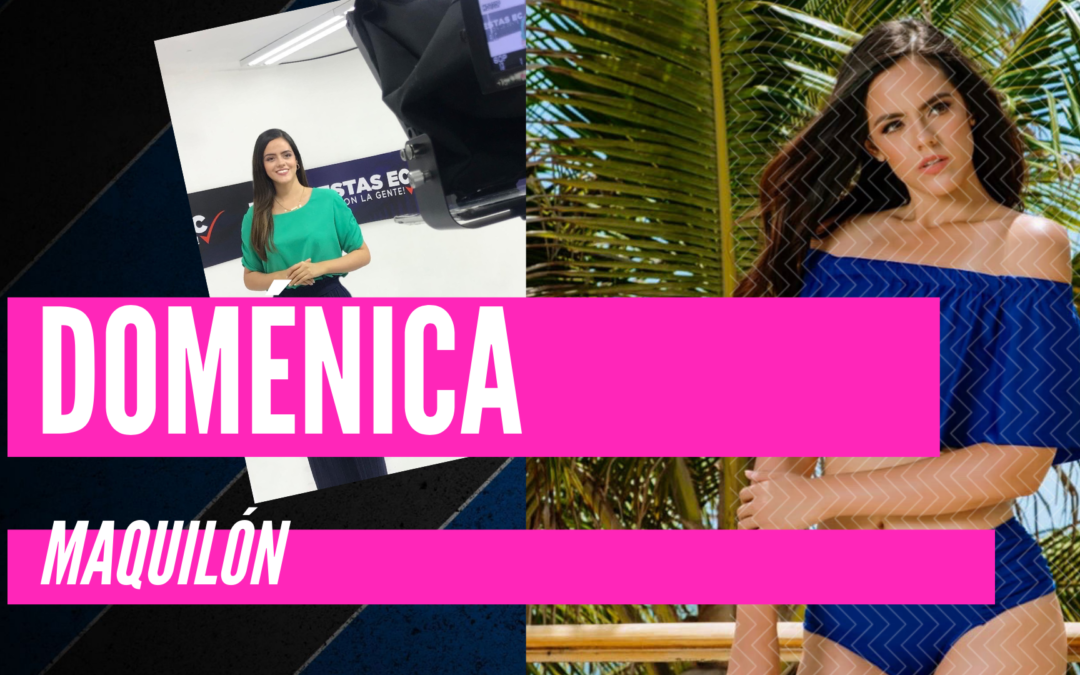 Doménica Maquilón – diseñadora gráfica publicitaria
