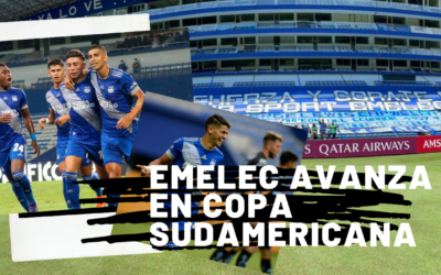 EMELEC avanza en Copa Sudamericana