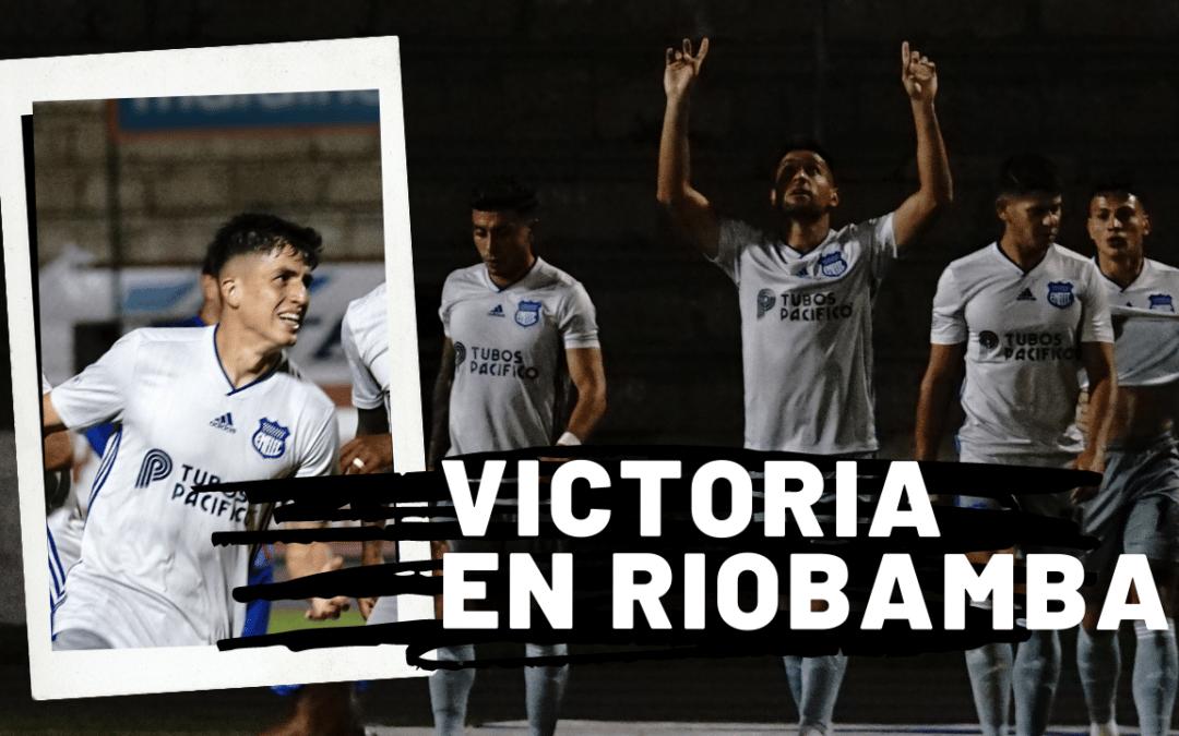 EMELEC logró una victoria en Riobamba y da pelea
