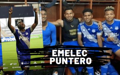 EMELEC vence a Mushuc Runa en Ambato y sigue primero