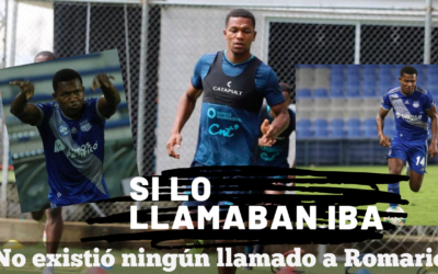 Romario Caicedo no fue convocado a la Tricolor