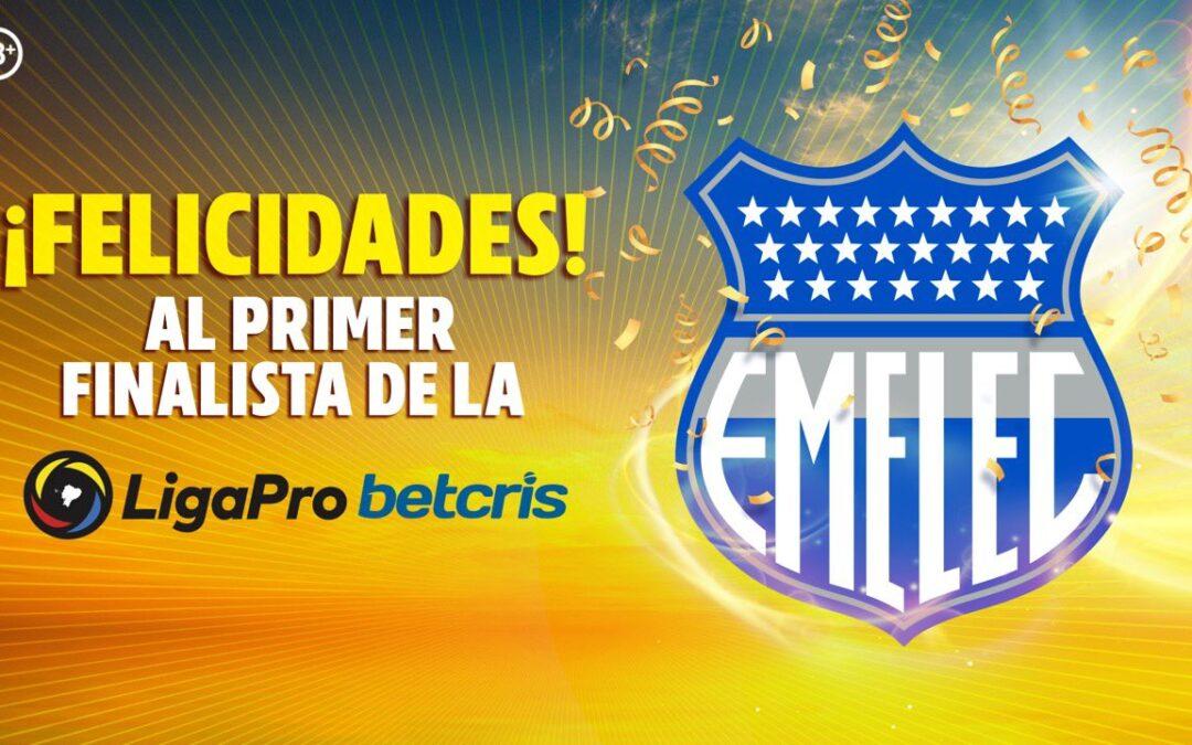 EMELEC ganador de la primera etapa 2021 jugará Copa Libertadores 2022