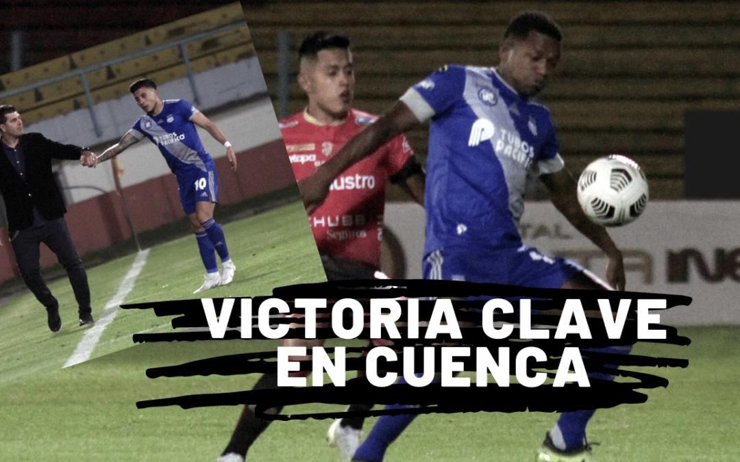 EMELEC logra importante victoria en Cuenca