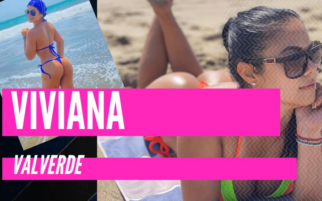 Viviana Valverde: Relax en la playa